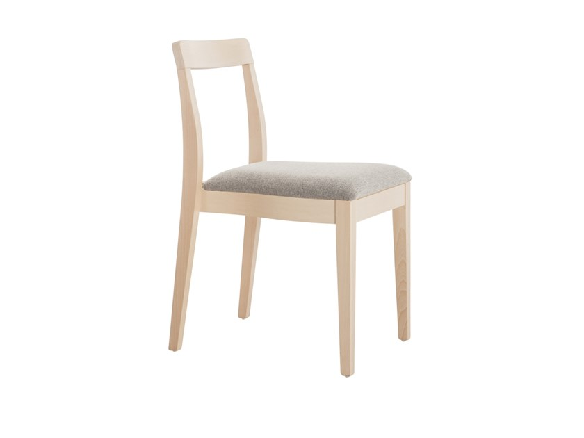 Stackable beech chair MINI 49K.i2 by Palma