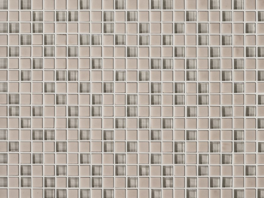 Glass mosaic MINI BEIGE by Elements Mosaic