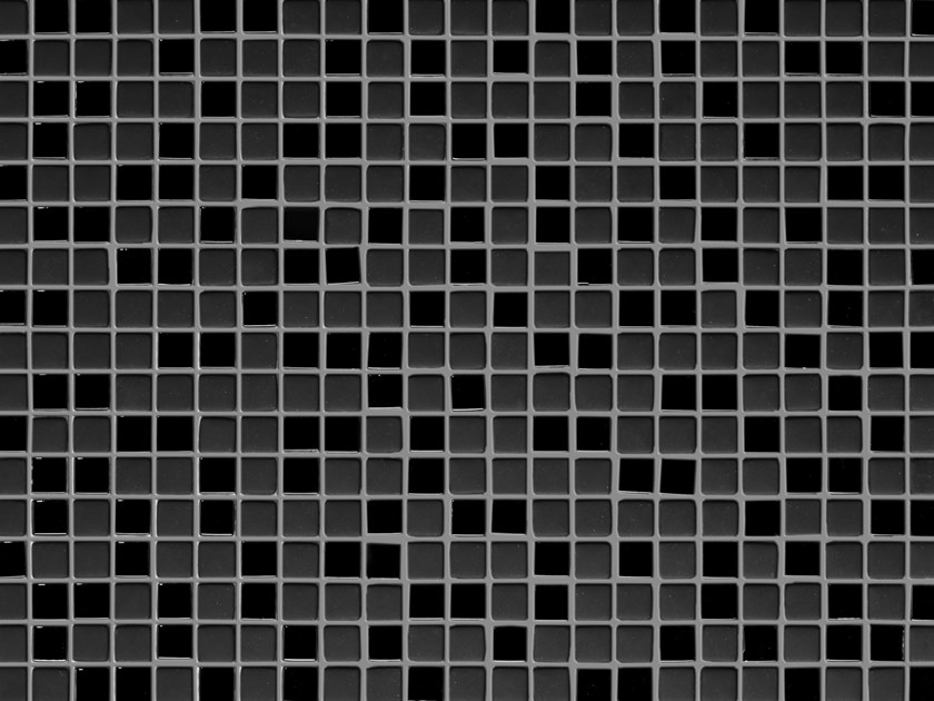 Glass mosaic MINI BLACK by Elements Mosaic