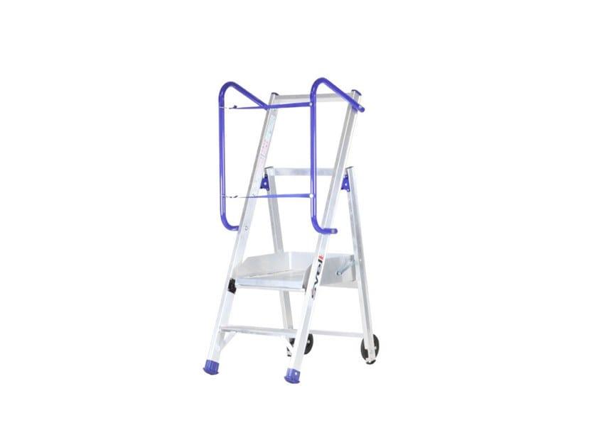 Aluminium heavy duty ladder MINI FLY LIGHT by SVELT