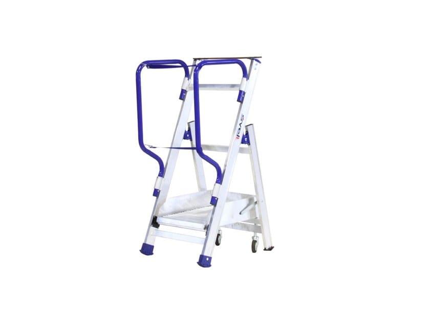 Aluminium heavy duty ladder MINI FLY by SVELT