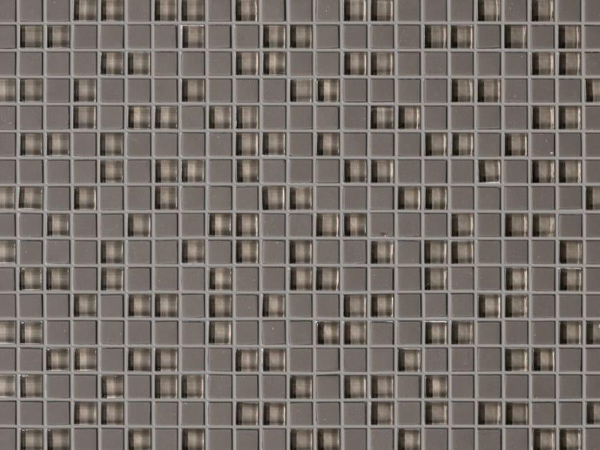 Glass mosaic MINI GREY by Elements Mosaic