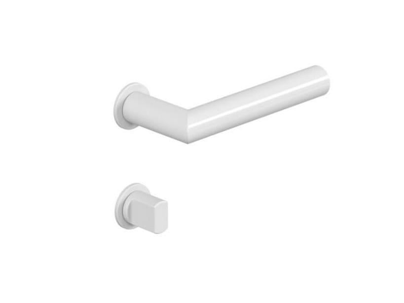 Polyamide lock / door handle MINI MITRED | Plastic door handle by HEWI