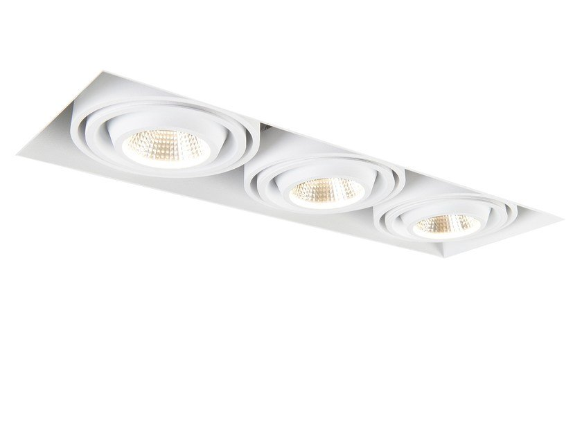 Ceiling recessed spotlight MINI MULTIPLE TRIMLESS 3 by Modular Lighting Instruments