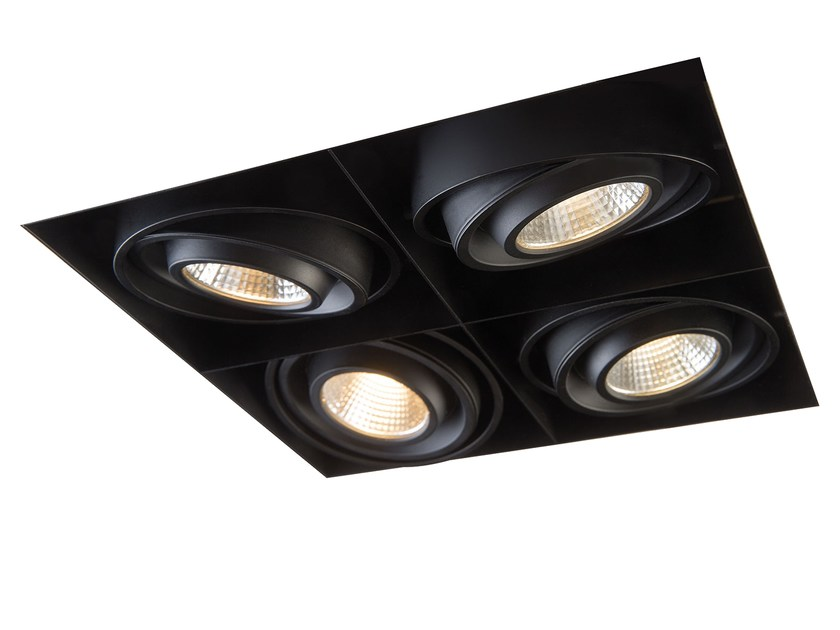 ceiling recessed spotlight mini multiple trimless 4 mini multiple
