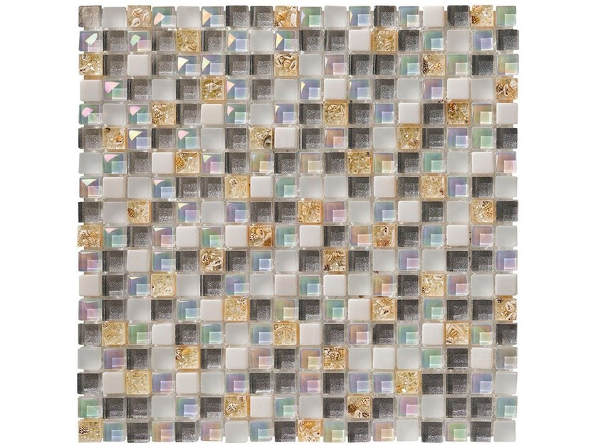 Glass mosaic MINI SHELL by BOXER