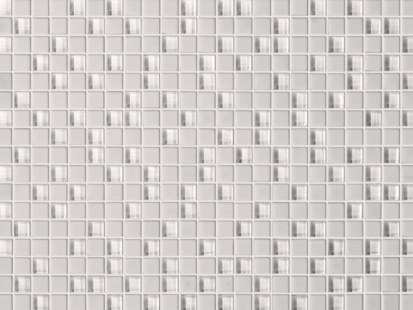 Glass mosaic MINI WHITE by Elements Mosaic