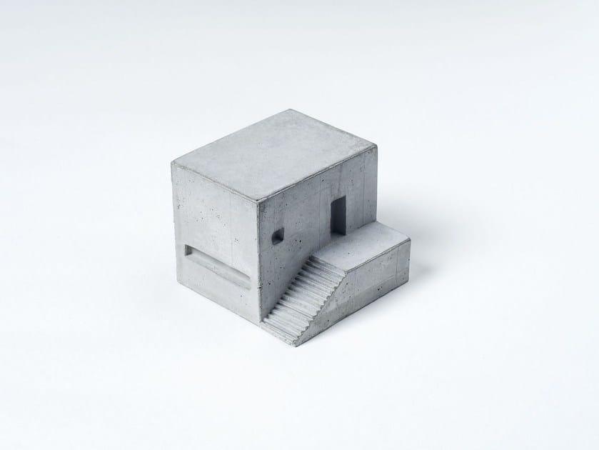 Concrete architectural model Miniature Concrete Home #7 by mim studio