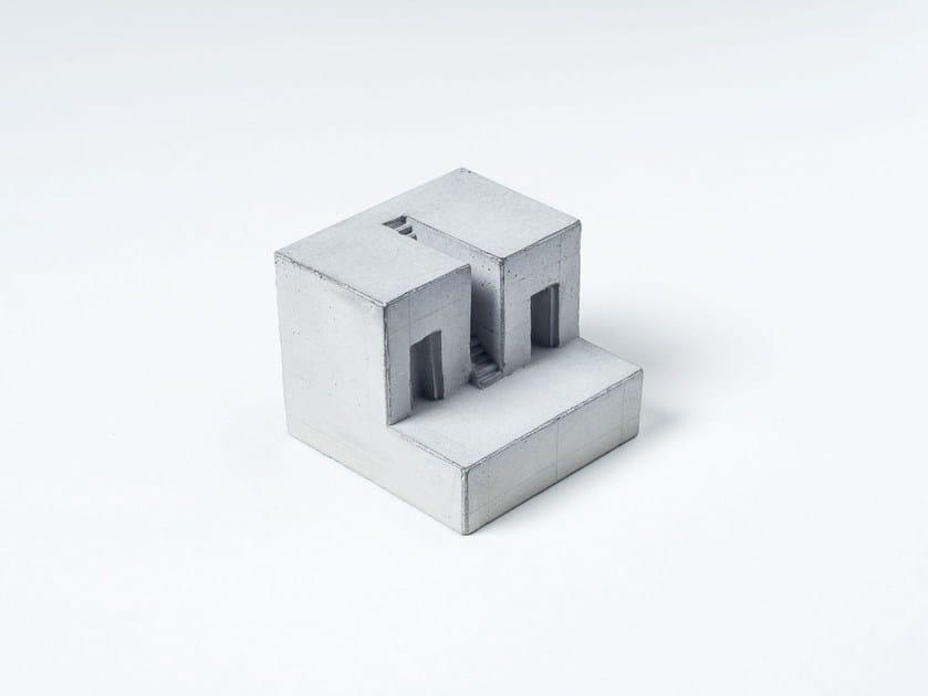 Concrete architectural model Miniature Concrete Home #8 by mim studio