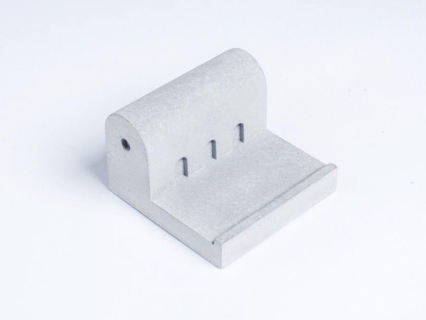 Concrete Furniture knob / architectural model Miniature Home Concrete #11 by mim studio