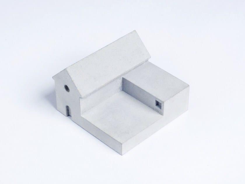 Concrete Furniture knob / architectural model Miniature Home Concrete #4 by mim studio
