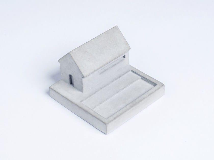 Concrete Furniture knob / architectural model Miniature Home Concrete #5 by mim studio
