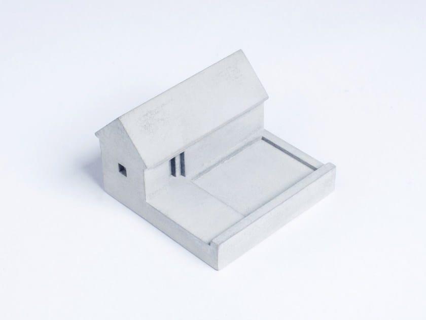 Concrete Furniture knob / architectural model Miniature Home Concrete #6 by mim studio