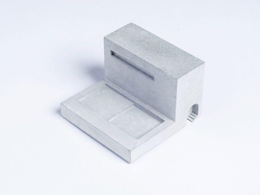 Concrete Furniture knob / architectural model Miniature Home Concrete #9 by mim studio