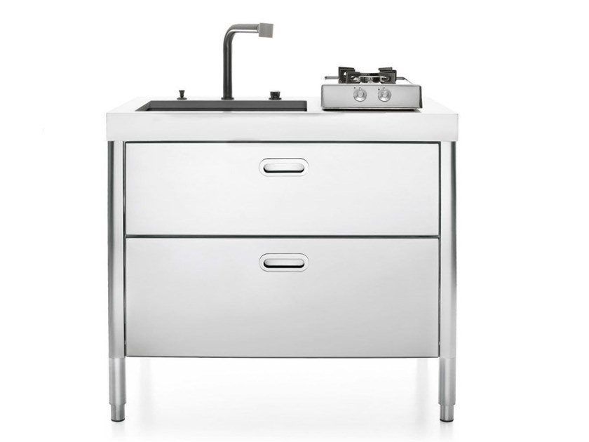 MINICUCINA 100 | Kitchen unit Liberi in cucina Collection By ALPES ...