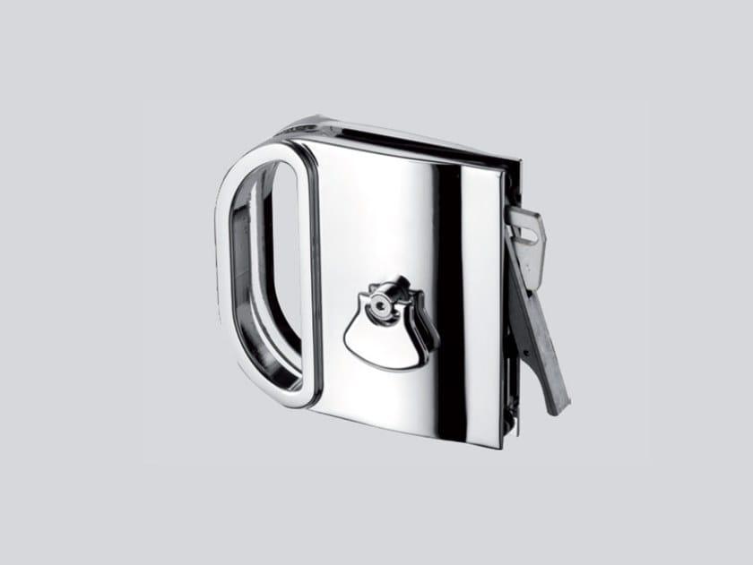 Serratura per porte scorrevoli MINIMA V-604 by Metalglas Bonomi