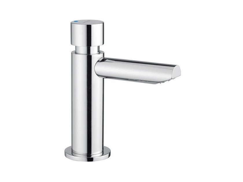 Self-closing Tap for public WC MINIMAL 800.10 | Tap for public WC by IDRAL