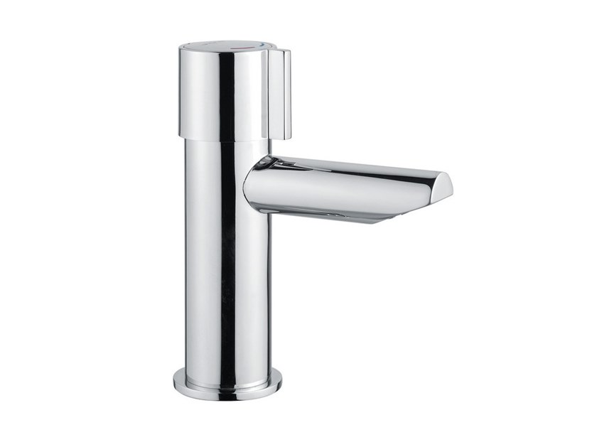 Self-closing Tap for public WC MINIMAL 800.12   Tap for public WC by IDRAL