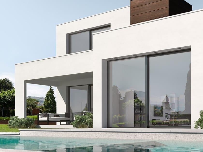 Aluminium and wood patio door MINIMAL | Aluminium and wood patio door by BG legno