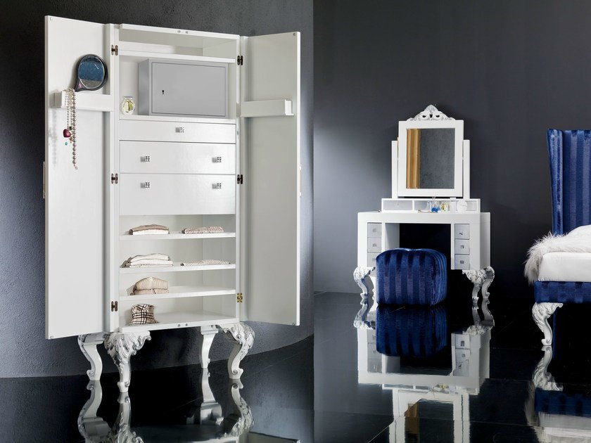 Lacquered wardrobe MINIMAL BAROQUE | Wardrobe by Modenese Gastone