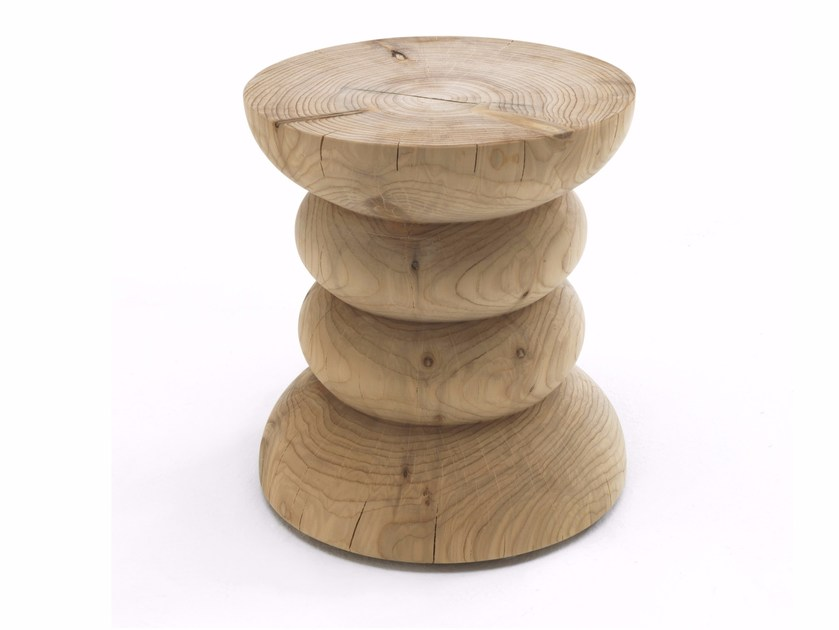 Cedarwood stool MINIMAL by Riva 1920