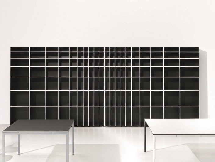 Open tall office shelving MINIMUM | Bookcase by Ultom