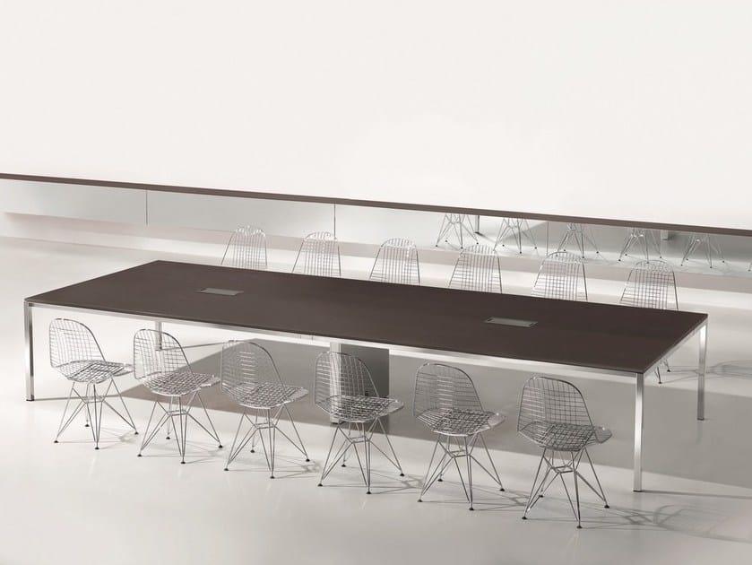 MINIMUM | Tavolo da riunione rettangolare Collezione Minimum By Ultom