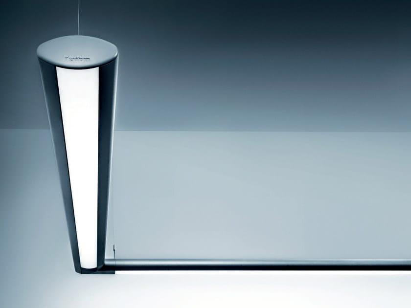 LED direct light extruded aluminium pendant lamp MINIVEGA   Direct light pendant lamp by PLEXIFORM