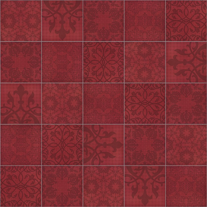 Glazed stoneware wall/floor tiles MINOO D3 by Ceramica Bardelli