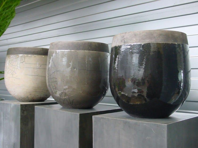Terracotta vase MINSK POT by Domani