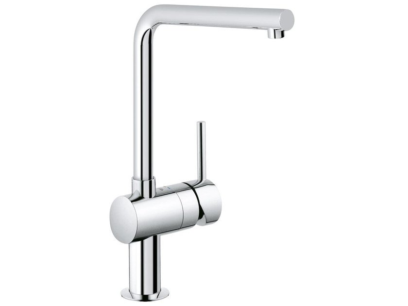 1 hole kitchen mixer tap with swivel spout MINTA L | Kitchen mixer tap by Grohe