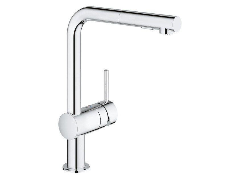 MINTA L | Kitchen mixer tap with pull out spray Minta Collection By ...