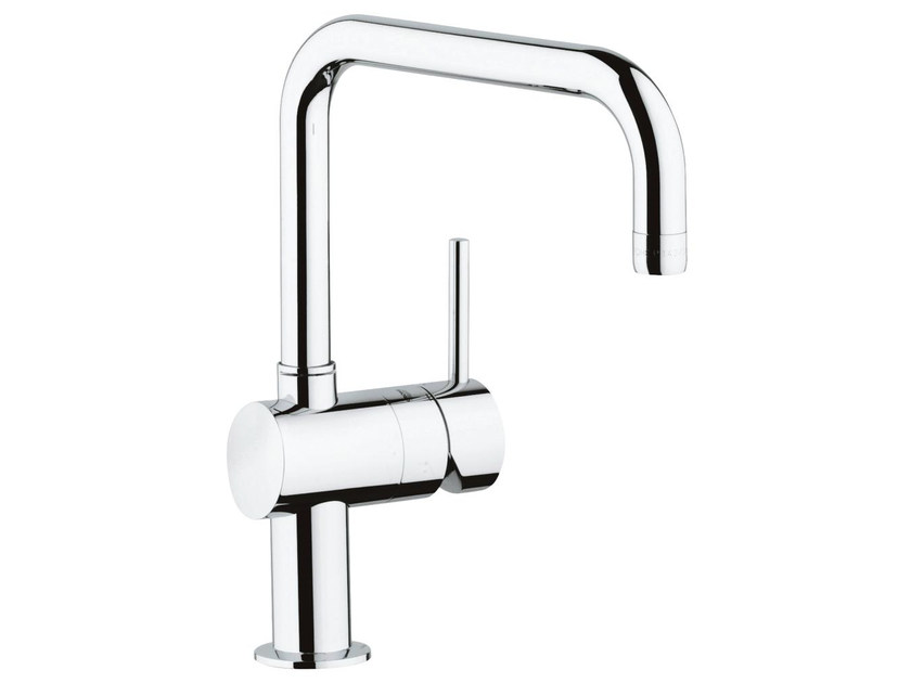 1 hole kitchen mixer tap with swivel spout MINTA U | Kitchen mixer tap by Grohe