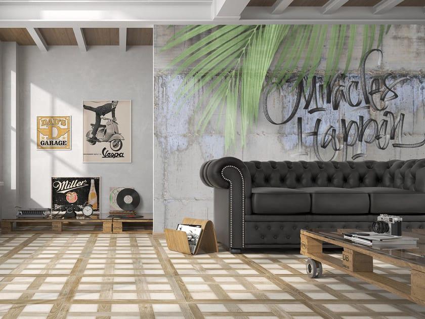 Writing wallpaper MIRACLES HAPPEN by Mat&Mat