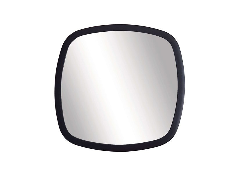 Square wall-mounted framed mirror MIRAGE | Square mirror by Pacini & Cappellini