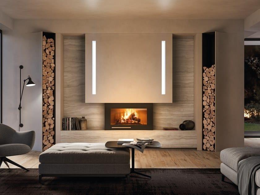 Travertine Fireplace Mantel MIRAMARE by PALAZZETTI