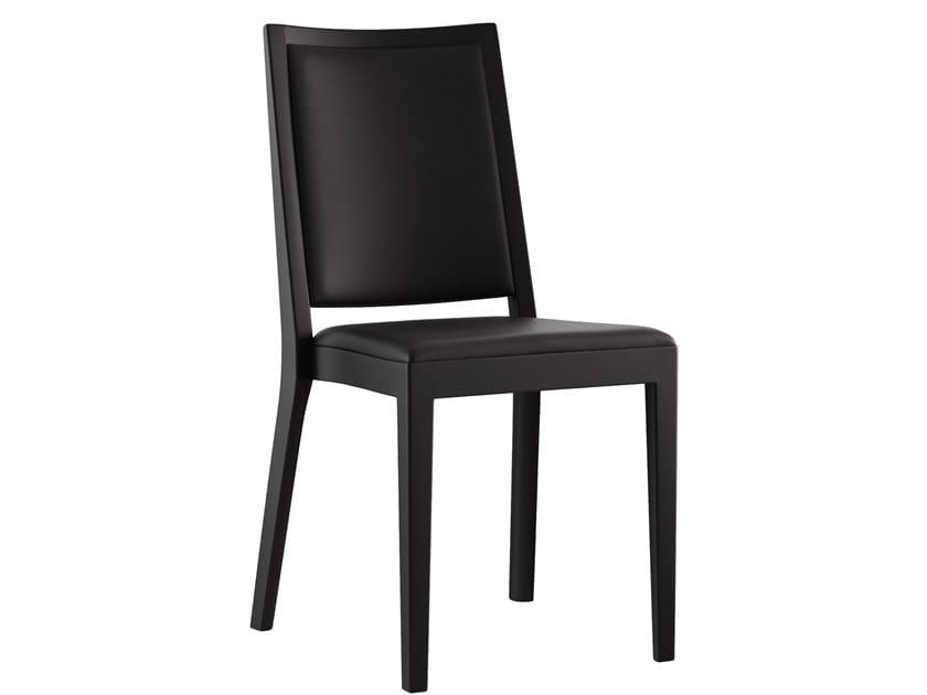 Sedia impilabile in legno massello MIRO MONTREAUX | Sedia by horgenglarus