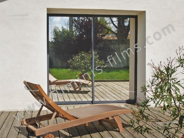 Adhesive solar control window film MIROIR-103i by Luminis Films