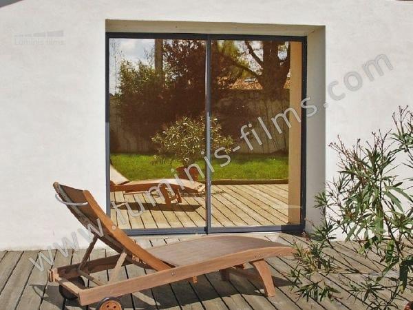 Adhesive solar control window film MIROIR-104i by Luminis Films