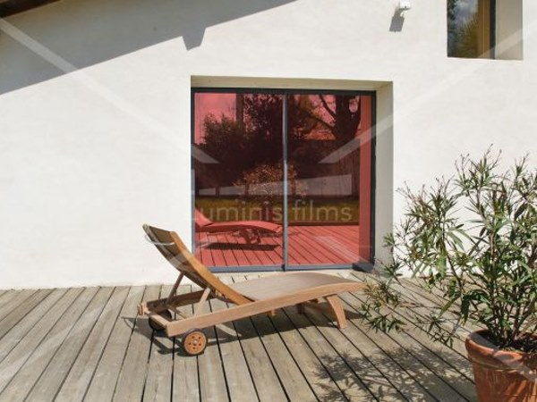 Adhesive solar control window film MIROIR-105i by Luminis Films
