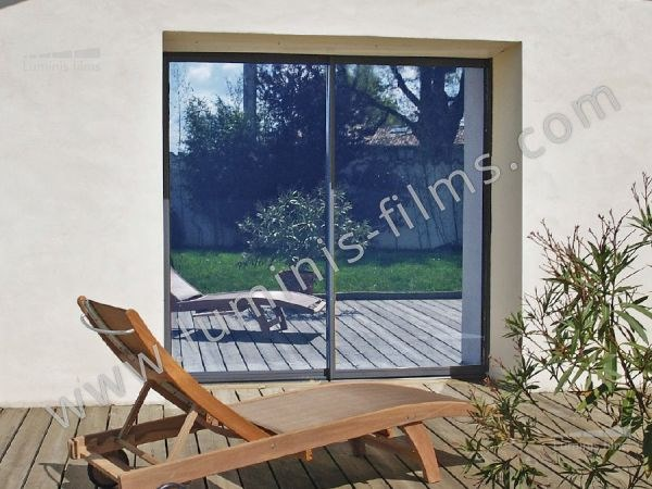 Adhesive solar control window film MIROIR-106i by Luminis Films