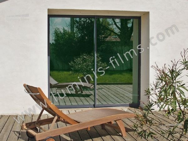 Adhesive solar control window film MIROIR-107i by Luminis Films