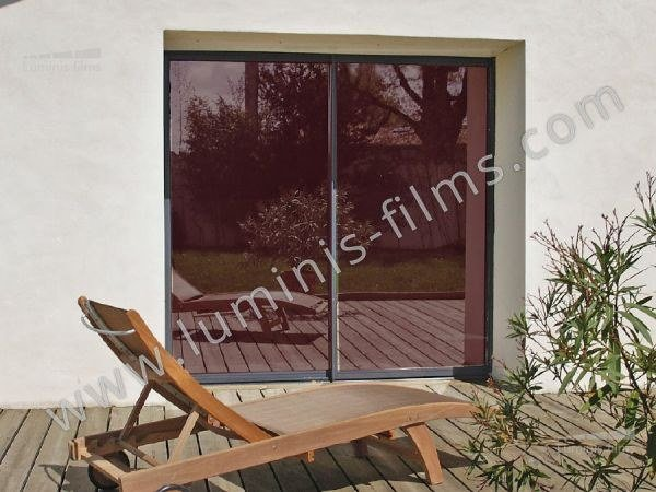 Adhesive solar control window film MIROIR-108i by Luminis Films