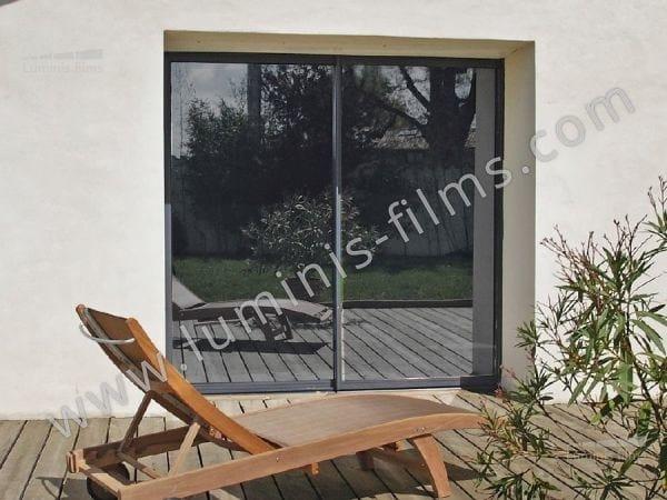 Pellicola per vetri adesiva effetto specchio miroir 109i linea pellicole per vetri effetto - Pellicola a specchio per finestre ...