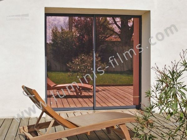 Adhesive solar control window film MIROIR-110i by Luminis Films