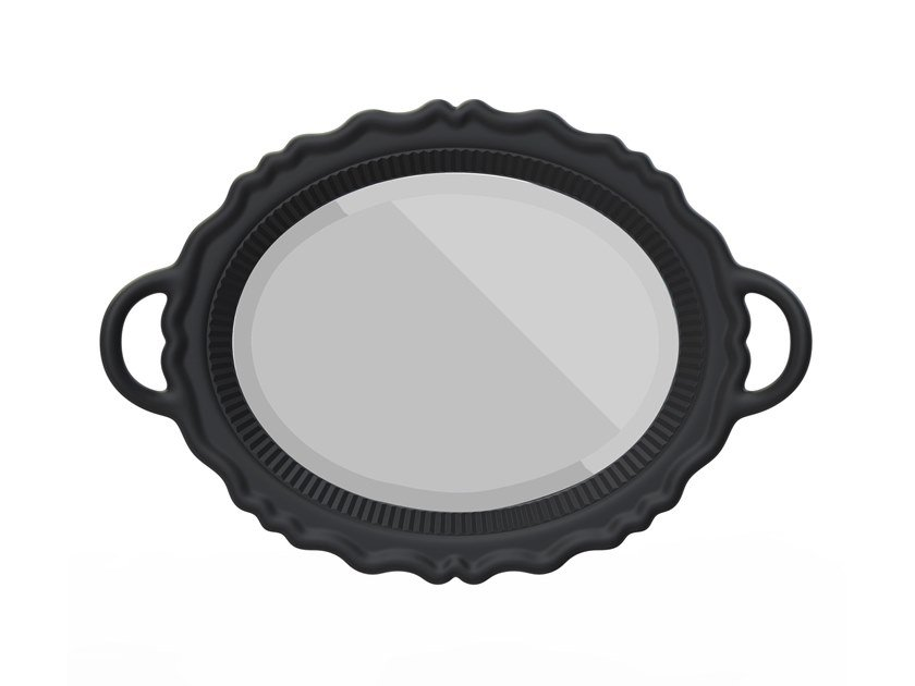 Oval framed mirror MIROIR by Qeeboo