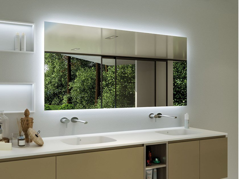 Bathroom Wall Cabinet With Integrated