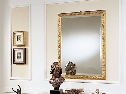 Wall-mounted framed mirror VIENNA | Mirror by Arvestyle
