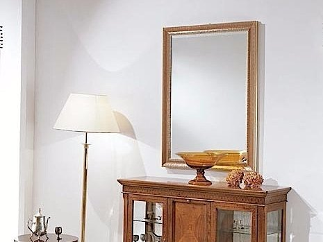 Rectangular wall-mounted framed mirror MARTA | Mirror by Arvestyle