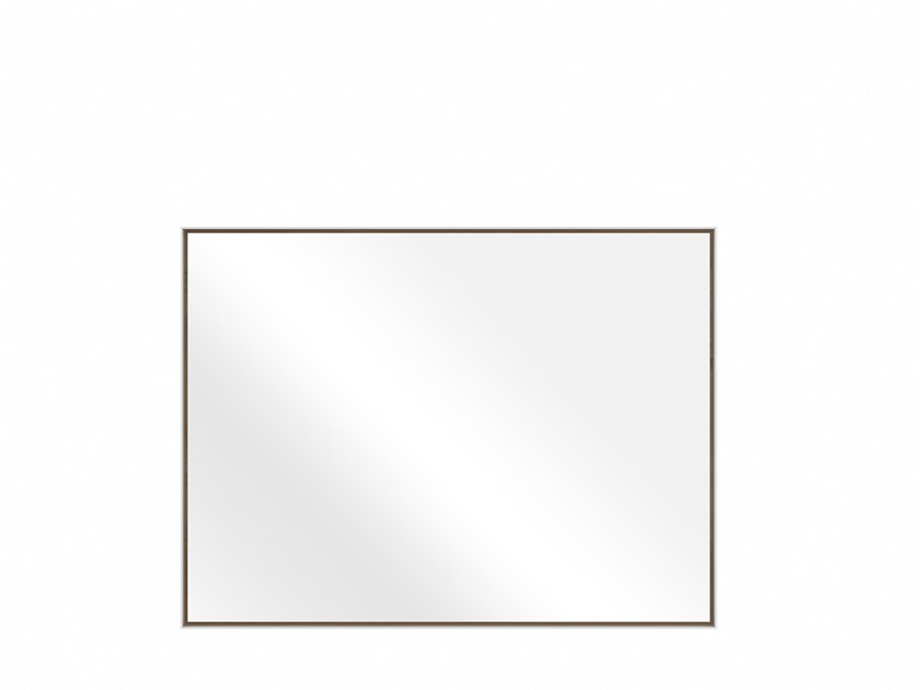 Rectangular wall-mounted bathroom mirror OAK WHITE SENSE | Mirror by Ethnicraft